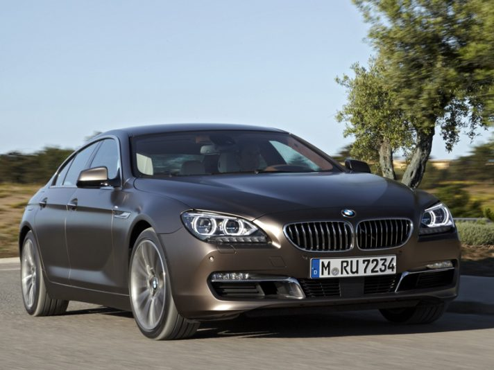 BMW Serie 6 Grand Coupe - Frontale