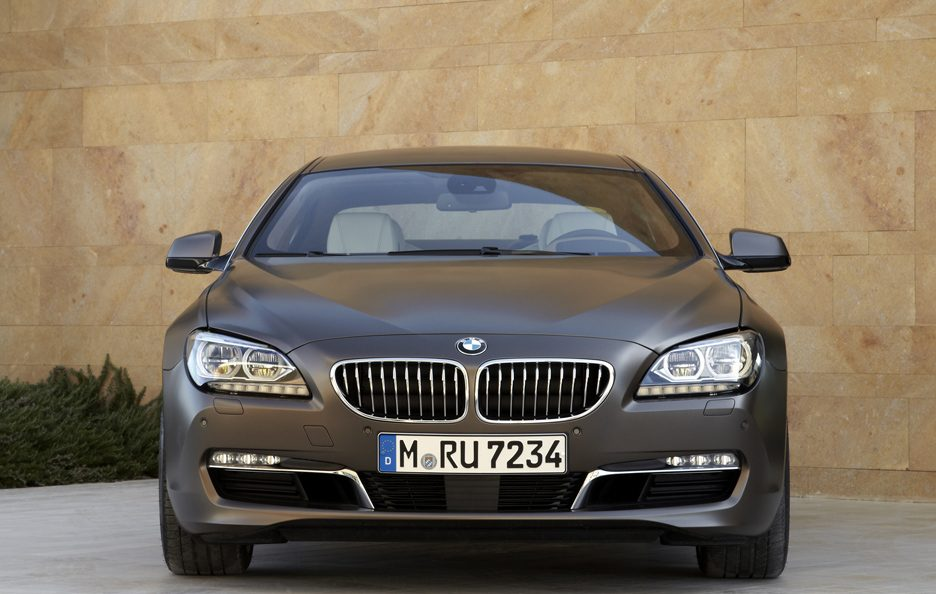 BMW Serie 6 Grand Coupe - Il frontale