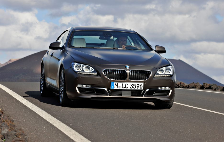BMW Serie 6 Grand Coupé - In motion frontale