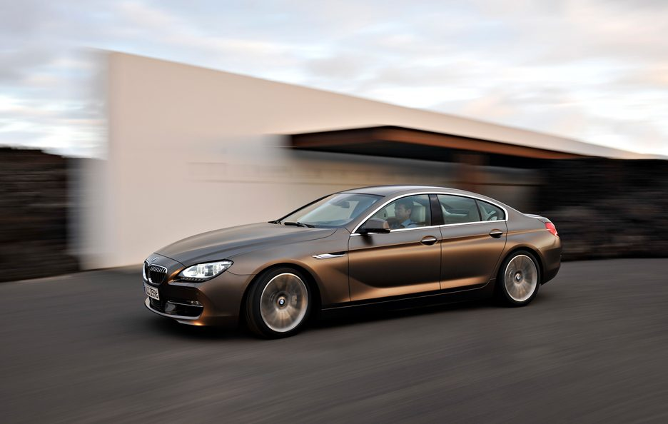 BMW Serie 6 Grand Coupé - In motion laterale