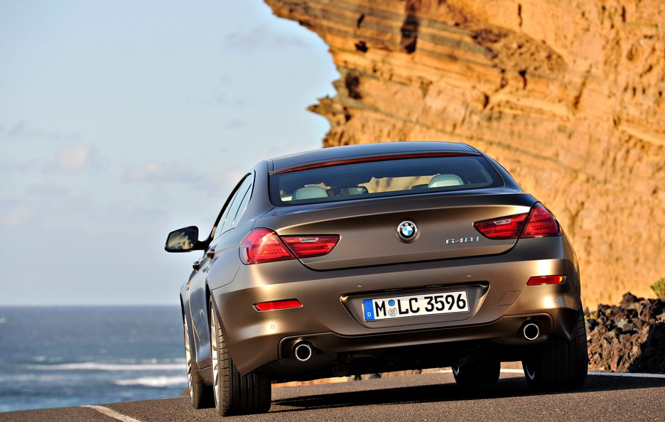 BMW Serie 6 Grand Coupé - In motion posteriore