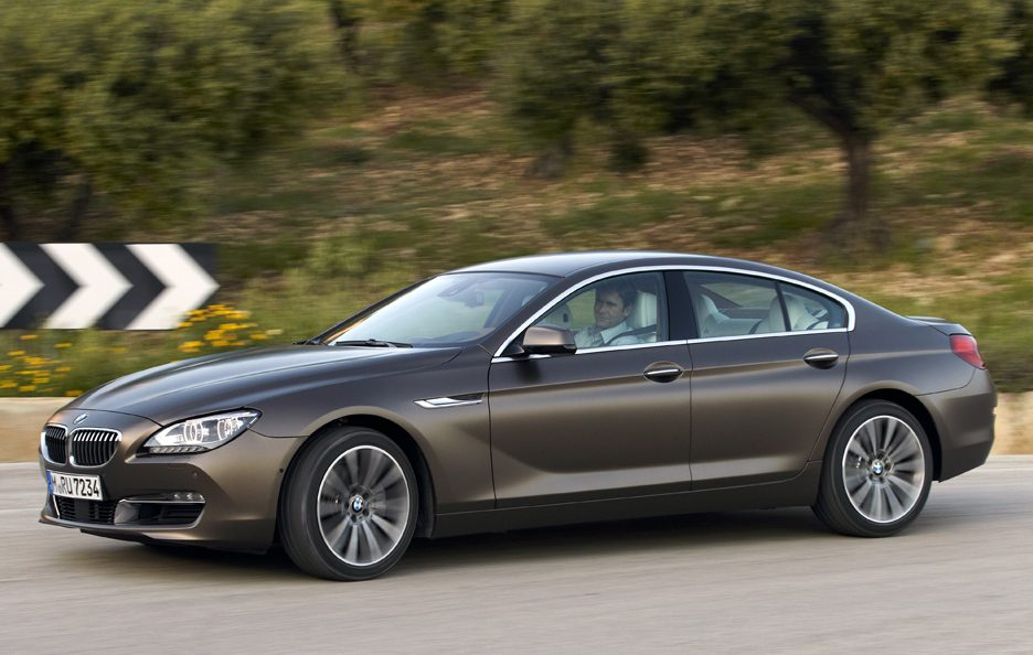 BMW Serie 6 Grand Coupe - Laterale alto in motion