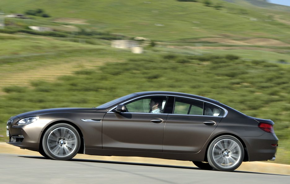 BMW Serie 6 Grand Coupe - Laterale in motion
