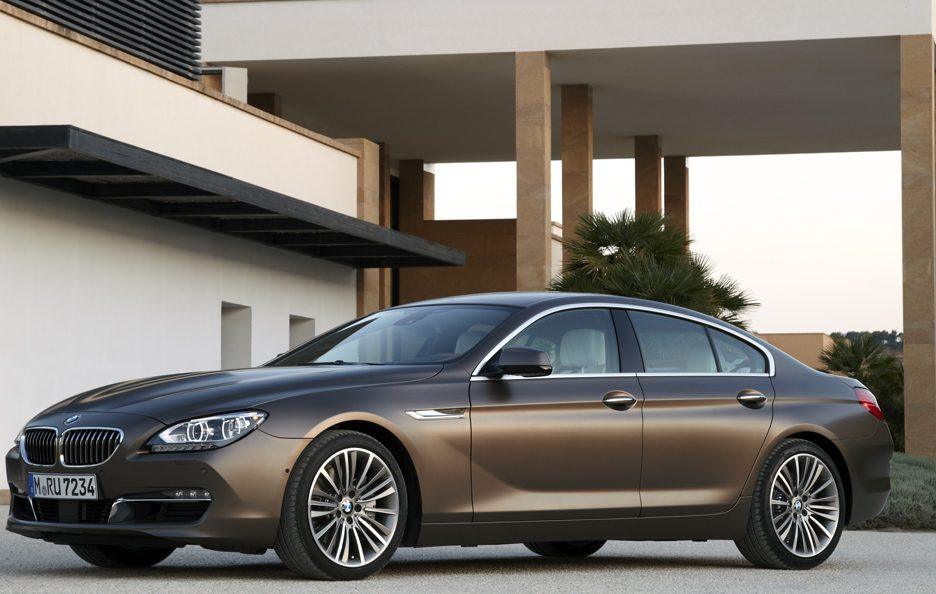 BMW Serie 6 Grand Coupe - Linee