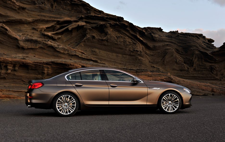 BMW Serie 6 Grand Coupé - Linee laterali