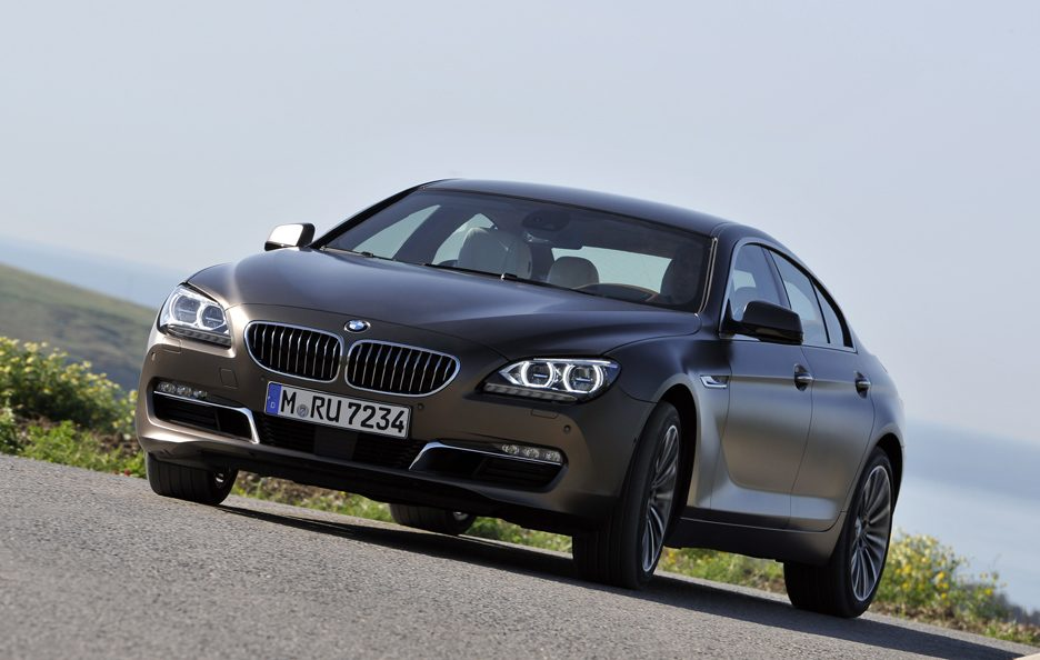 BMW Serie 6 Grand Coupe - Profilo frontale in motion