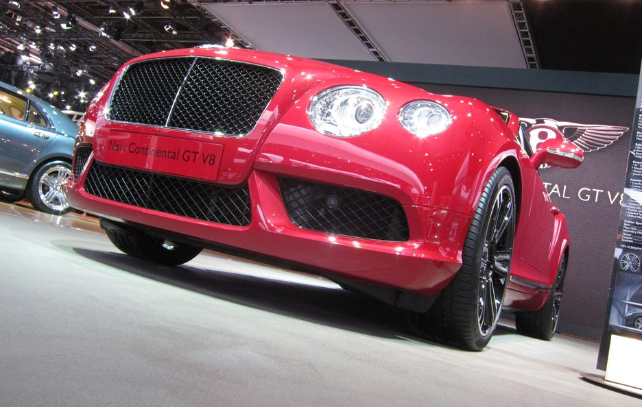 Bentley Continental GT - Frontale basso