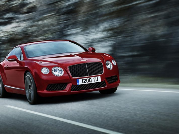 Bentley Continental GT V8 - Frontale