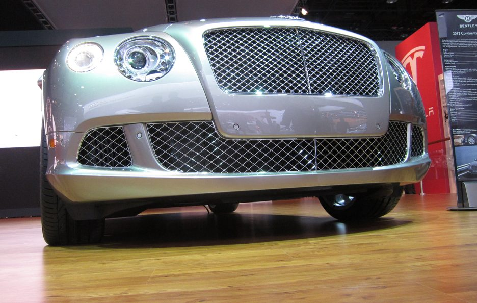 Bentley Continental GTC - Il muso