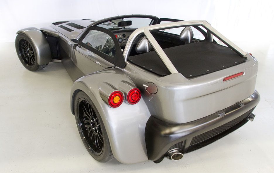 Donkervoort D8 GTO - Profilo posteriore