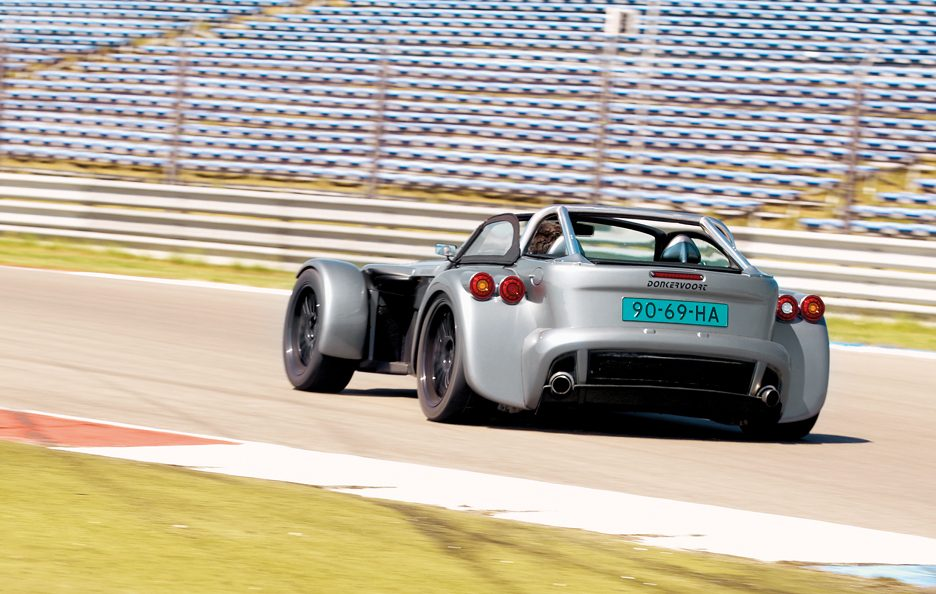 Donkervoort D8 GTO tre quarti posteriore 2