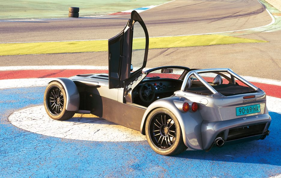 Donkervoort D8 GTO tre quarti posteriore