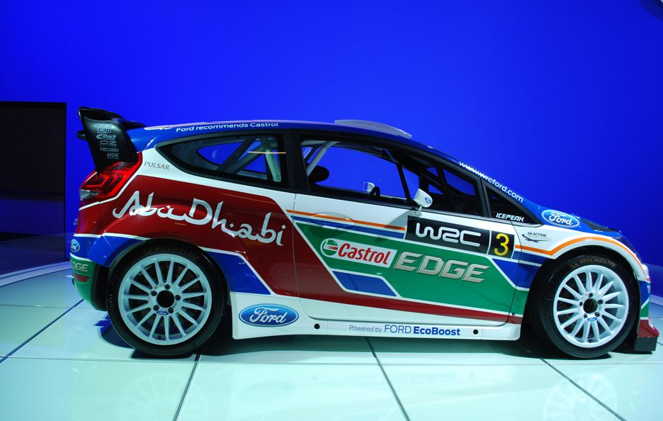 Ford Fiesta RS WRC - Laterale