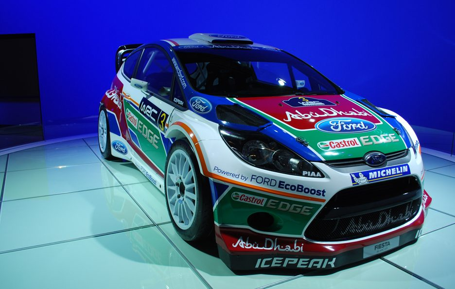 Ford Fiesta RS WRC - Tre quarti frontale