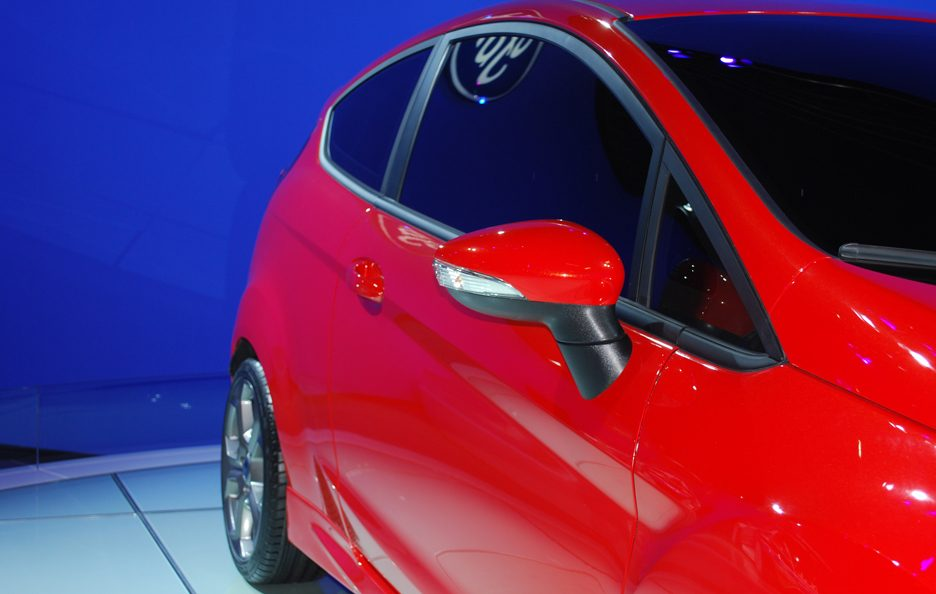 Ford Fiesta ST - Linea laterale