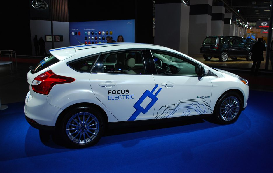 Ford Focus Electric - Laterale