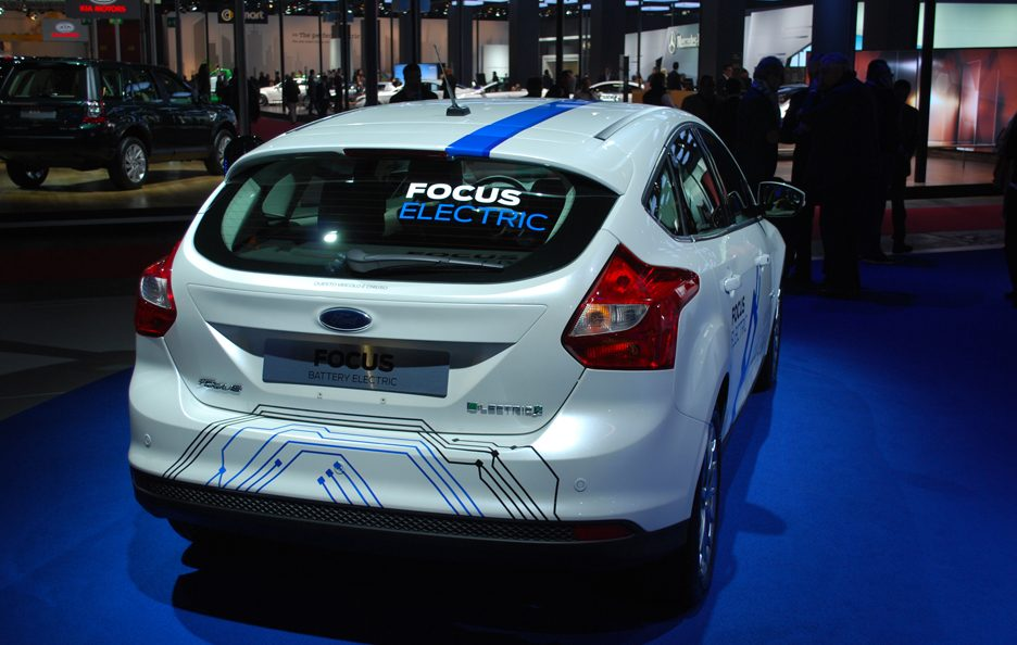 Ford Focus Electric - Posteriore