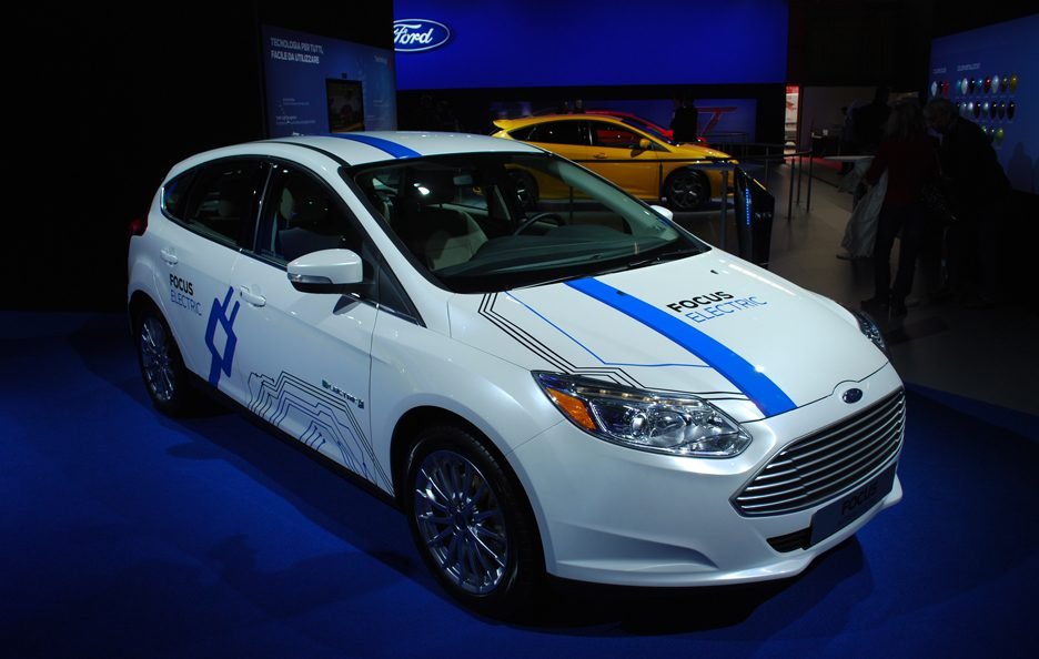 Ford Focus Electric - Profilo frotnale