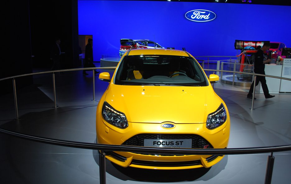Ford Focus ST - Frontale