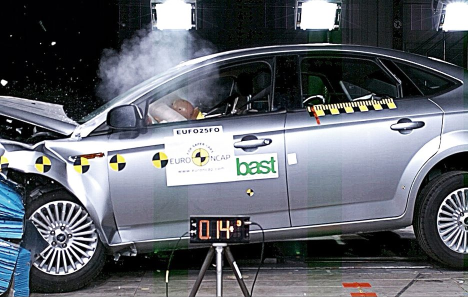 Ford Mondeo crash test Euro NCAP