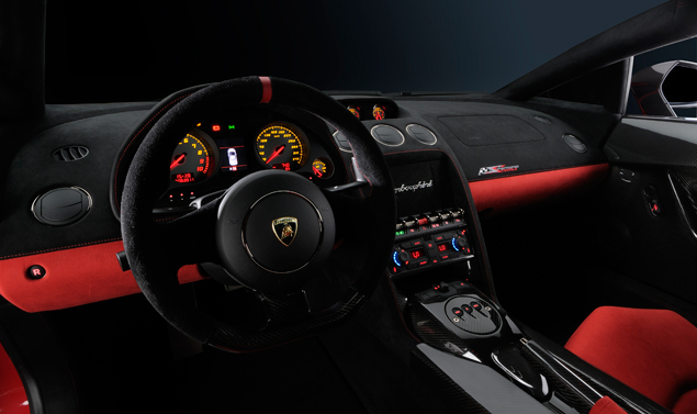 Gallardo LP 570-4 Super Trofeo - Quadro comandi