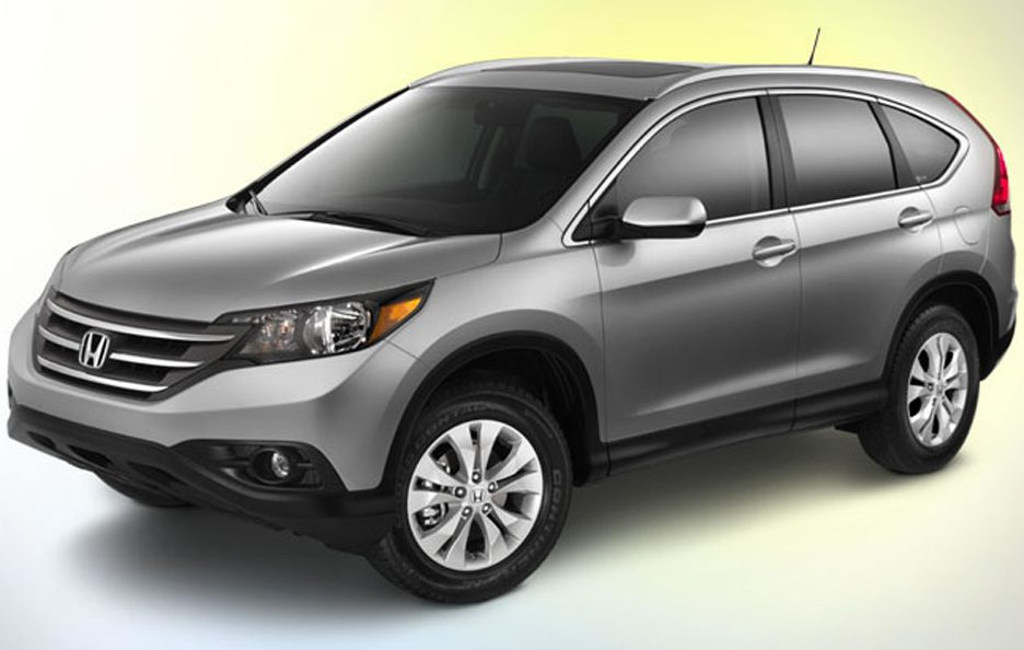 Honda CR-V 2012 - Linea laterale