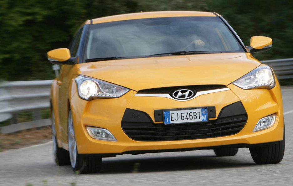 Hyundai Veloster Frontale