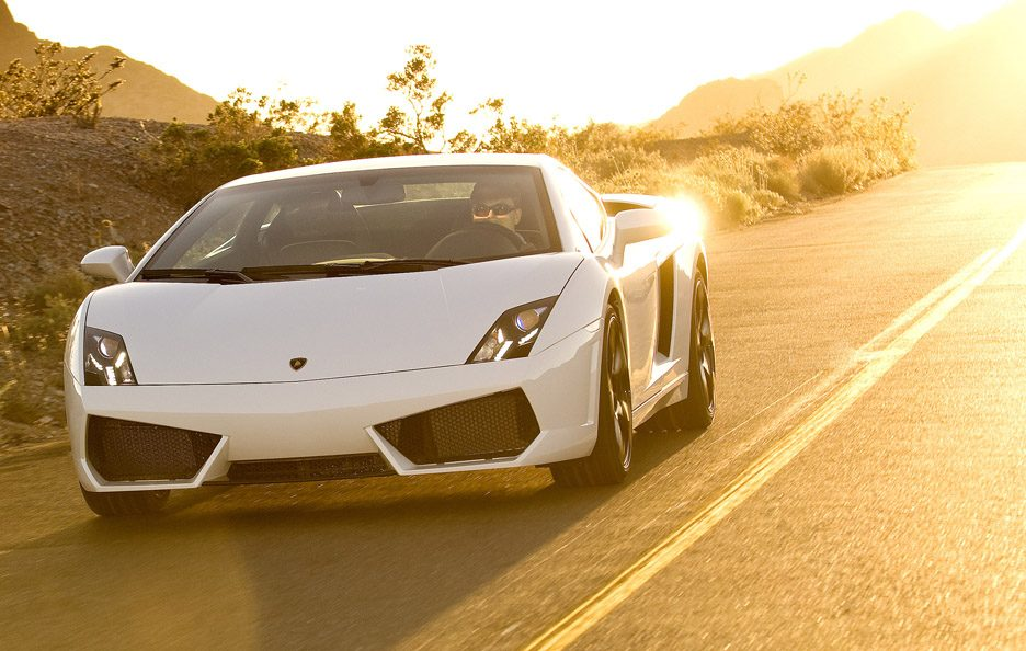 Lamborghini Gallardo LP 560-4 - Frontale in motion