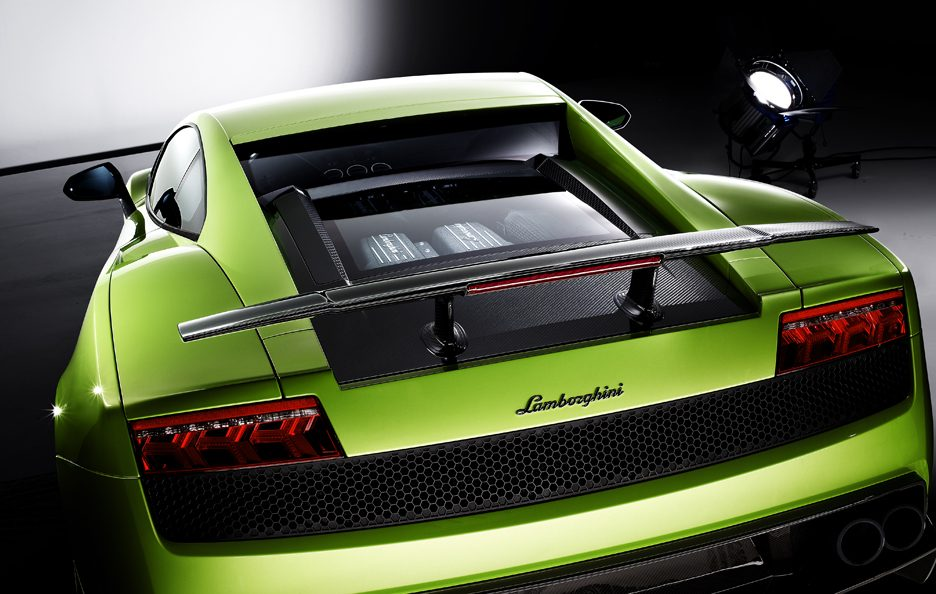 Lamborghini Gallardo LP 570-4 Superleggera - Coda