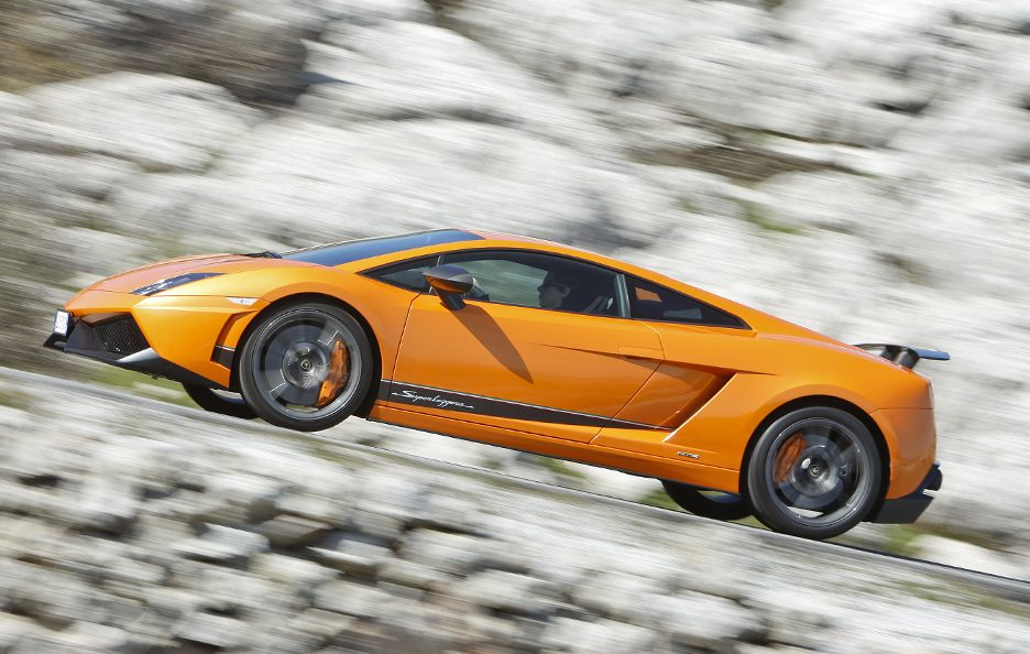 Lamborghini Gallardo LP 570-4 Superleggera - Laterale