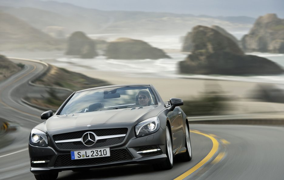 Mercedes Benz SL - Frontale