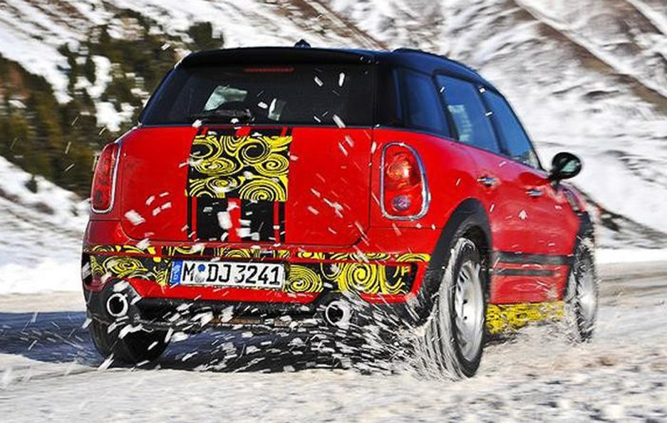 Mini Countryman John Cooper Works - Posteriore
