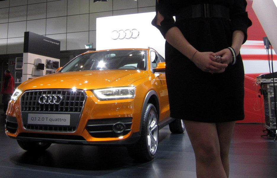 Motor Show 2011 - Audi Q3 - Il frontale