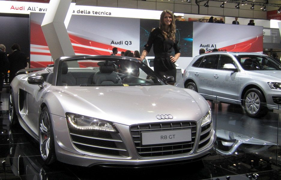 Motor Show 2011 - Audi R8 GT - Il frontale