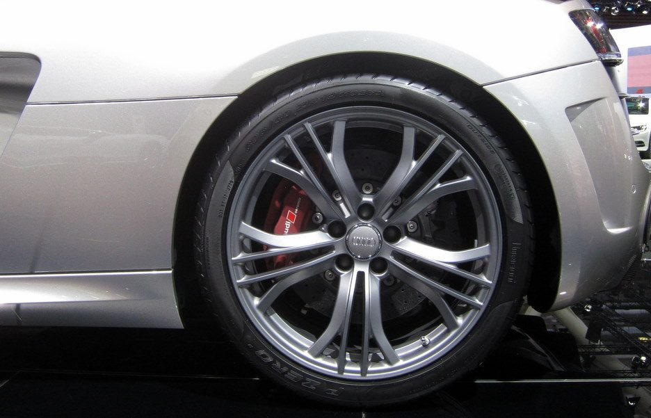 Motor Show 2011 - Audi R8 GT - Le ruote