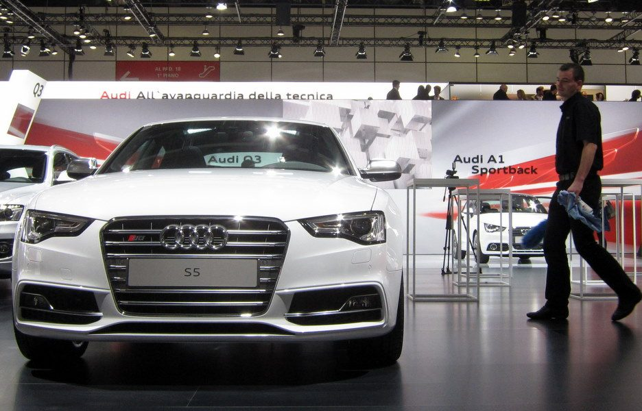 Motor Show 2011 - Audi S5 - Il frontale