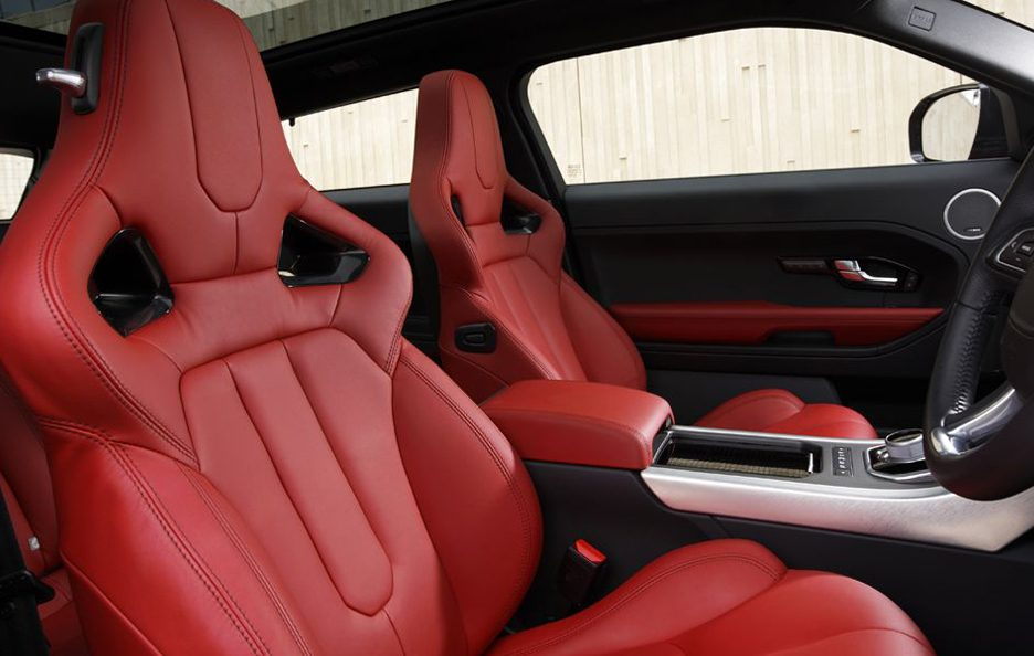 Range Rover Evoque - Interni - Red