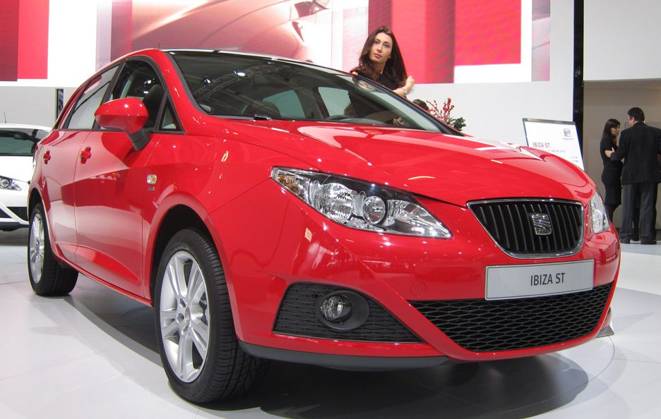 Seat Ibiza ST - Frontale basso
