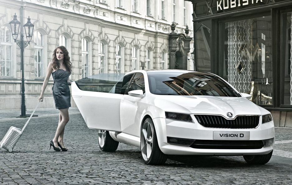 Skoda VisionD Concept - Frontale