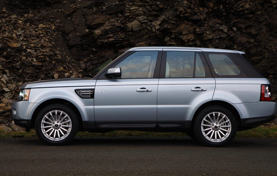 10 - Land Rover Range Rover Sport restyling profilo