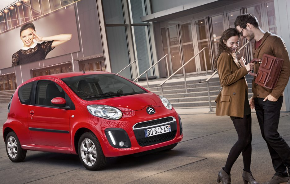 Citroen C1 - Red - Stile
