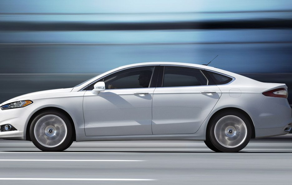 Ford Fusion - Laterale