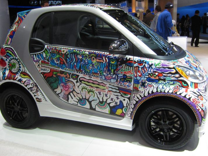 16 - Smart fortwo Billy the Artist profilo