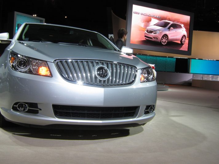 Lo stand Buick a Detroit