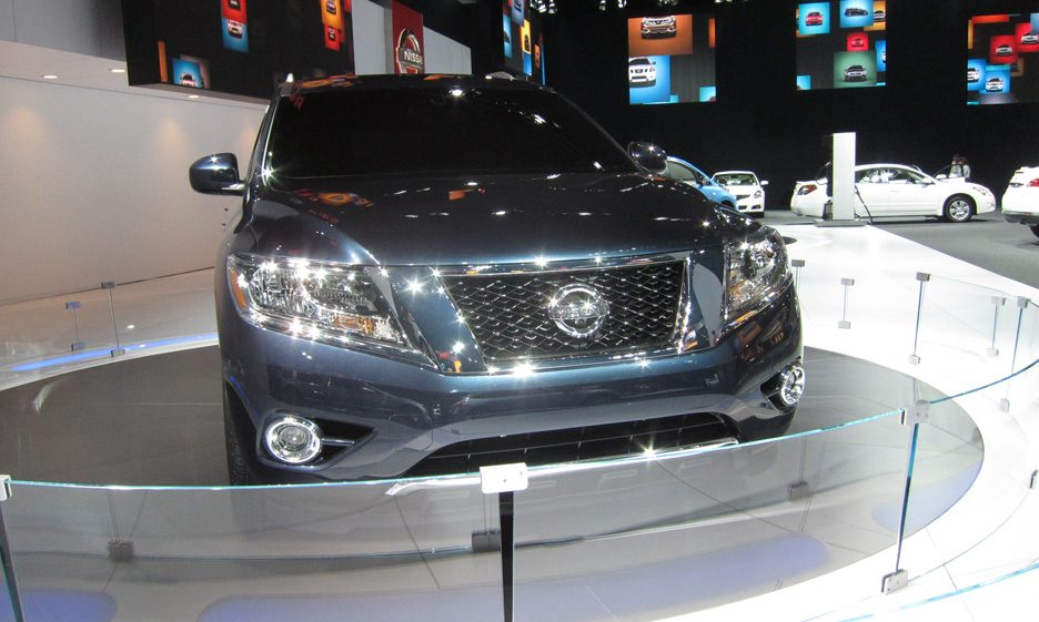 Nissan Pathfinder - Frontale