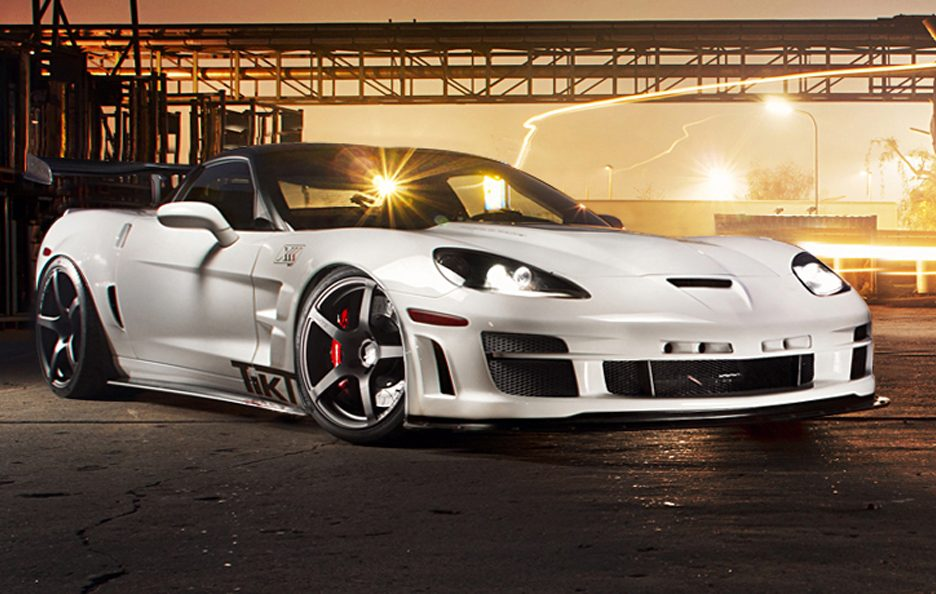 Chevrolet Corvette ZR1 by TIKT - La linea