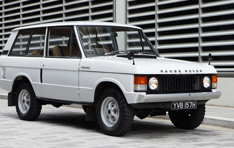21 - Land Rover Range Rover Classic