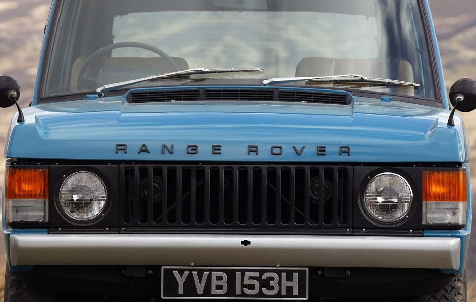 22 - Land Rover Range Rover Classic frontale