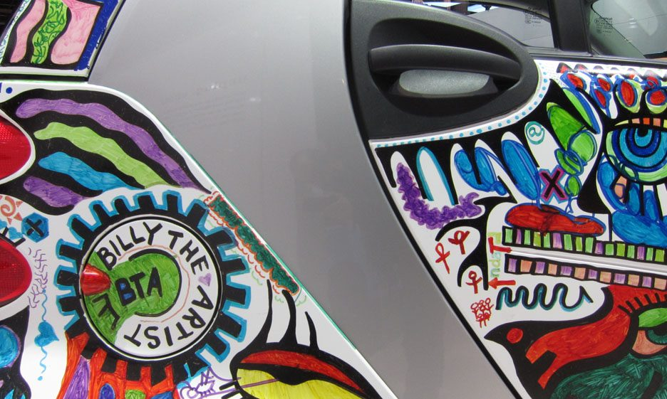 22 - Smart fortwo Billy the Artist cellula tridion