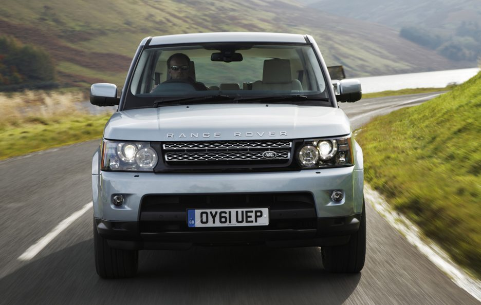 9 - Land Rover Range Rover Sport frontale
